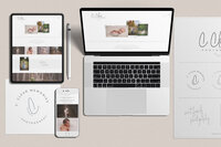 Family Photographer Branding and Web Design