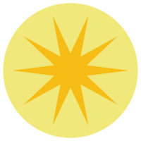 GoldStar_YellowCircle_Bullet