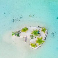 Drone Wedding Photography French Polynesia Island