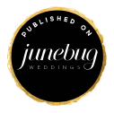 April and Paul Featured in Junebug Weddings