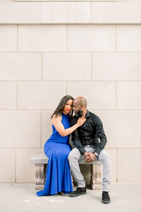 Millennium Gate Engagement Session Atlanta Photography