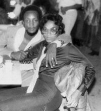 vintage 1970's black couple