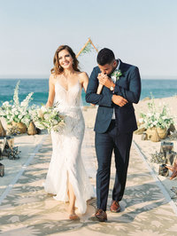 one and only palmilla beach wedding