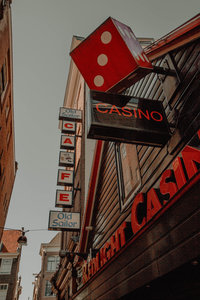 A travel photo of a casino in Amsterdam