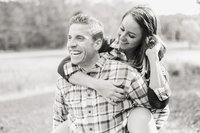Rochester NY Engagement at Mendon Ponds Park