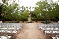 Ceremony Location at Rancho Bernardo Inn