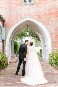 Lovely lavender Casa Feliz wedding 15