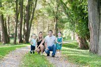 Laura Luft Family Photographer Lifestyle summer session trees session tall natural light  green grass creek cabbage Photography Elba NY  Western NY fall family lifestyle-51