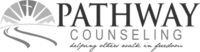 A grayscale logo for Pathway Counseling.
