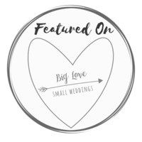 Featured on Big Love Small Wedding