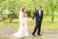 Fall October Wedding Bride and Groom Portraits Virginia Wedding Photographer