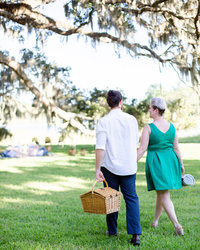 Kiawah River Propose Charleston Engagement