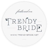 Trendy Bride Badge