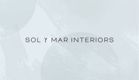 Sol y Mar Logo Blue