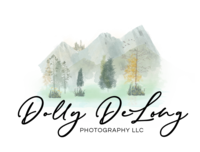 Dolly DeLong Photography Logo black font only with creative seen