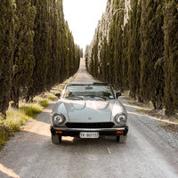 car in tuscany