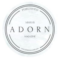 Adorn Magazine Badge