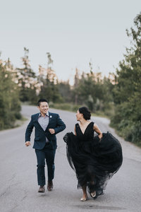 canmore elopement photographers