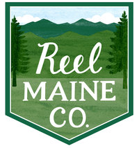 Reel Maine Company LOGO_with 2nd white border
