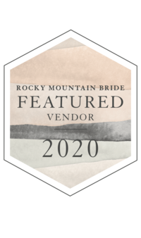Rocky Mountain Bride Featured Vendor in 2020