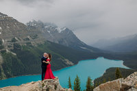 peyto lake elopement photographers