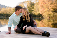 engagement photos at sweet briar college lynchburg va