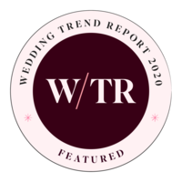Wedding Trend Report Badge
