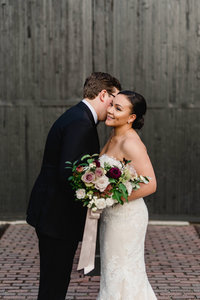 Modern Romantic Steamwhistle Brewery Wedding Featured in Martha Stewart Weddings | Jacqueline James Photography