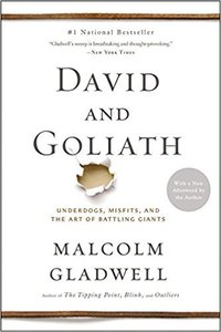 Amy & Jordan's favorite books and 1-year reading plan | David and Goliath Malcom Gladwell