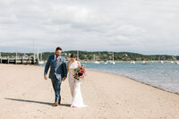 Cape Cod wedding on the beach