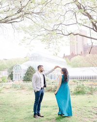 Karina Mekel Photography- NYC + NJ Wedding Photographer Brooklyn Botanical Garden
