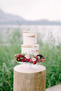 naked-cake-elopement