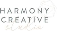 Harmony Creative Studio - Logo Design by With Grace and Gold - 3