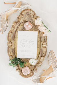 Blush Vintage Wedding