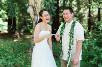Hawaiian Weddign in Sanborn Park, Saratoga