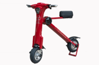 Red Foldable E-Bike M1