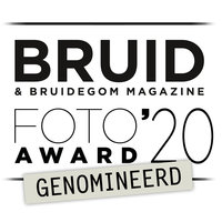 Nominatie award bruidsfoto en filmawards