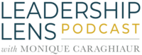 The Leadership Lens Podcast Logo Text