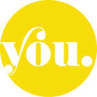 YOU logo w white background