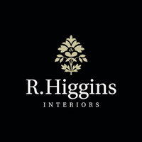 r. higgins interiors logo black