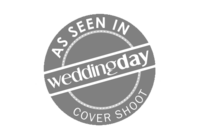 Featured in a WeddingDay Cover Shoot