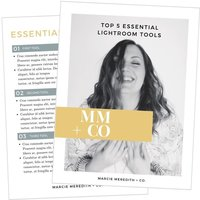 Marcie Meredith + Co. Top 5 Lightroom Tools Freebie 3