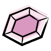 Absolute JEM Brand Icon Pink Gem