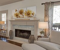 Marble fireplace inspiration