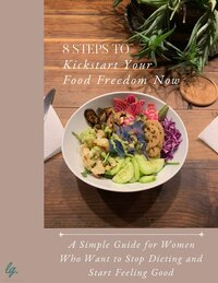 8 Steps Food Freedom Ebook Cover Showit