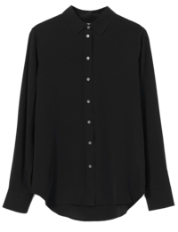 everlane silk shirt