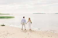 cape cod intimate beach wedding
