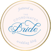 Featured in Coordinated Bride Logo