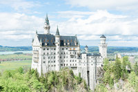 Castle in Germany taken by a Scotland Elopement Photographer