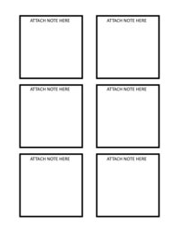 printable post-it note template freebie